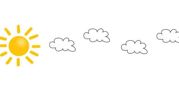Cloudy Overcast Clouds Vapors Sun Sunny Sunlit Wea