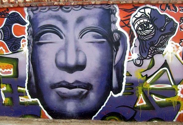 Graffiti Drawings Creation Paint Dye Artwork Retro