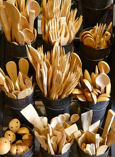 Wooden Cutlery Flatware Wood Timber Cutlery Wooden