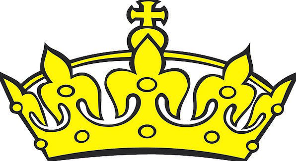 Crown Top Excellent Yellow Creamy Golden Elegant K