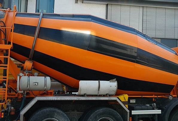 Concrete Mixer Traffic Transportation Concrete Rea