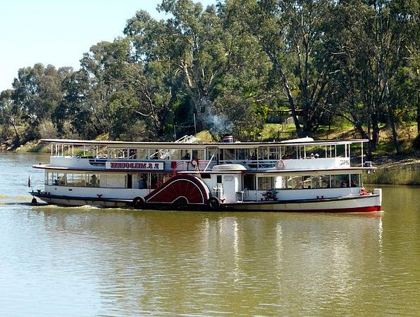 Paddle Steamer Traffic Transportation Riverboat Pa