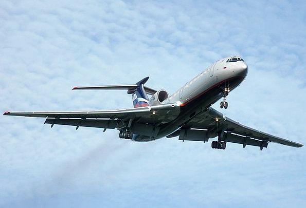 Tupolev Jet Airplane Tu 154 Plane Flight Aviation