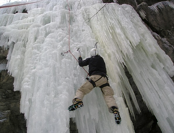 Ice Climbing Mountaineering Bergsport Alpinism Ice