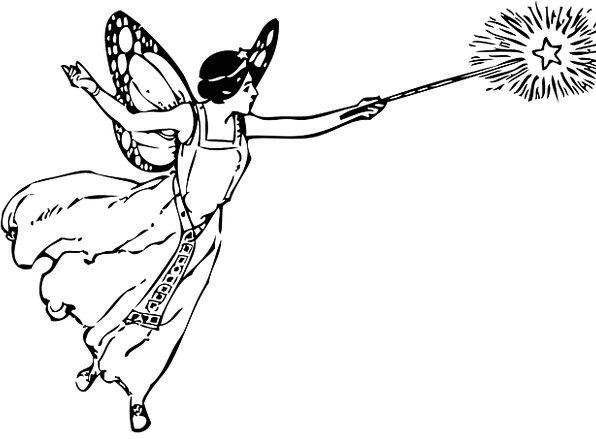 Magic Enchanted Baton Female Feminine Wand Free Ve