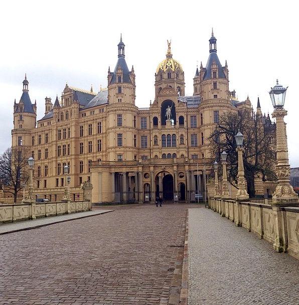 Castle Fortress Mecklenburg Western Pomerania Schw