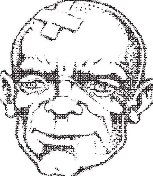 Man Gentleman Expression Bald Bare Face Portrait M