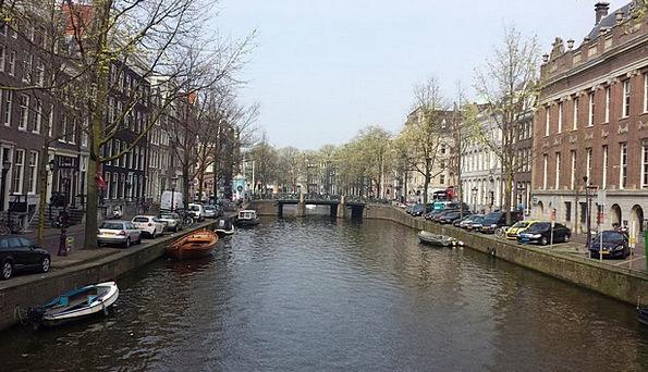 Amsterdam Waterways Holland Canals Netherlands Can