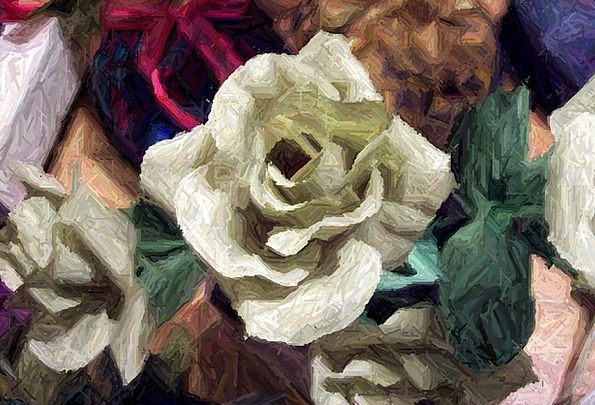 Rose Design Textures Contextual Backgrounds Painti