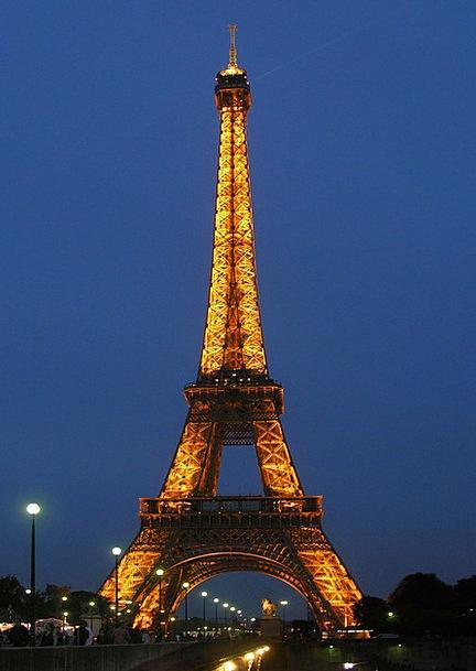 Eiffel Tower Buildings Architecture Paris France C