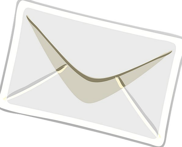 Envelope Cover Communication Tab Computer Fold Cri