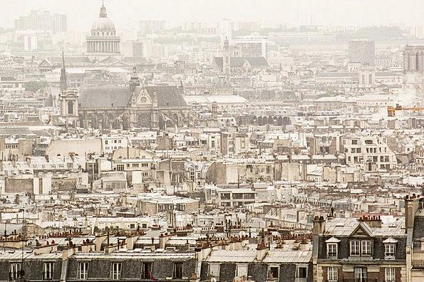 Paris Buildings Architecture Sacré Coeur France Si