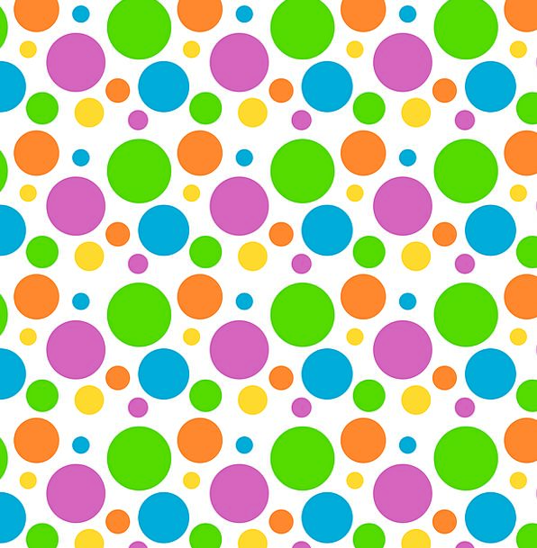 Polka-Dot Textures Contextual Backgrounds Pattern