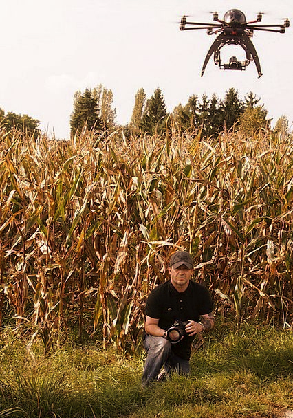 Drone Buzz Remotely Controlled Hexacopter Rotors B