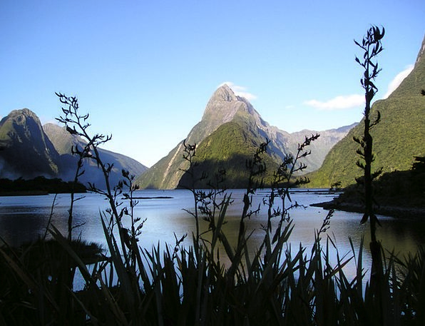 New Zealand South Island Fiordland Miter Peak Top