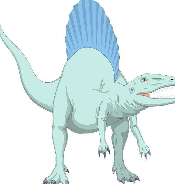 Blue Azure Relic Ancient Antique Dinosaur Prehisto