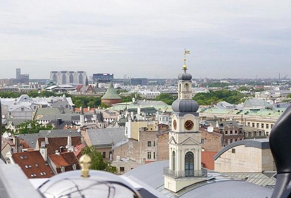 Riga Roofs Church Ecclesiastical Rooftops