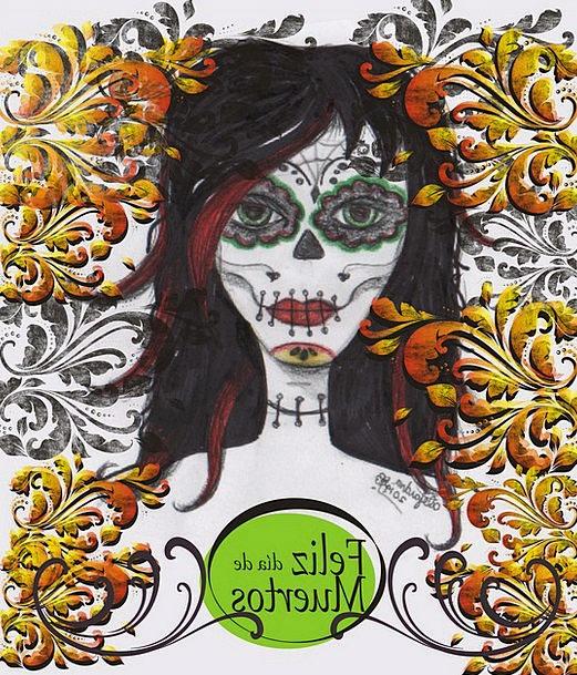 Day Of The Dead Catrina Mexico Popular Festivals I