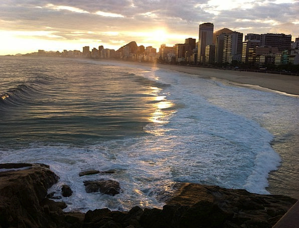 Copacabana Beach Vacation Travel Rio De Janeiro Ri