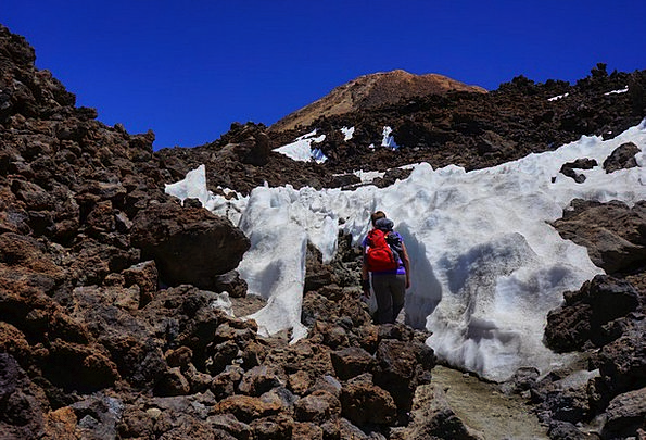 Hike Trek Wanderer Nomad Hiking Tour Penitentes Te