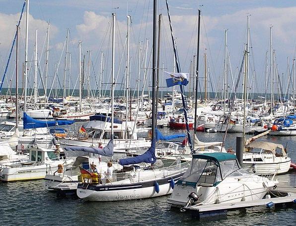 Marina Harbor Ships Yachts Boats Kühlungsborn Balt