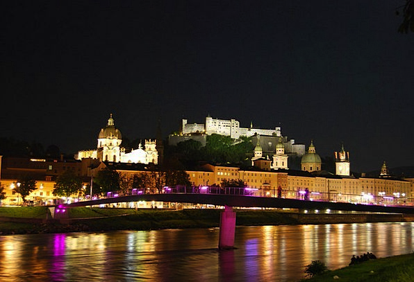 Salzburg Hohensalzburg Austria Fortress Stronghold