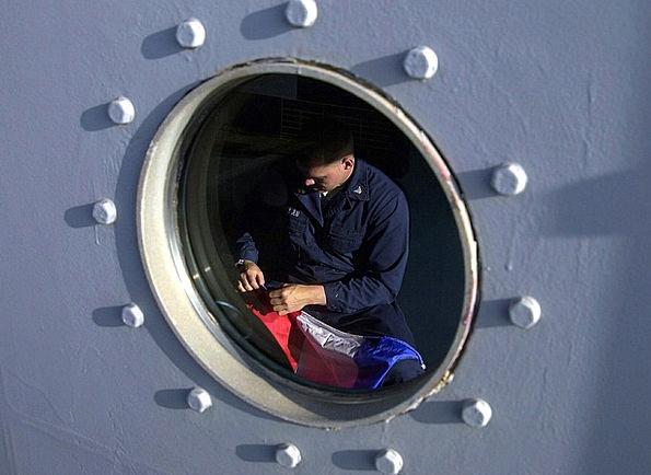 Ship Vessel Aperture Man Gentleman Porthole Mendin