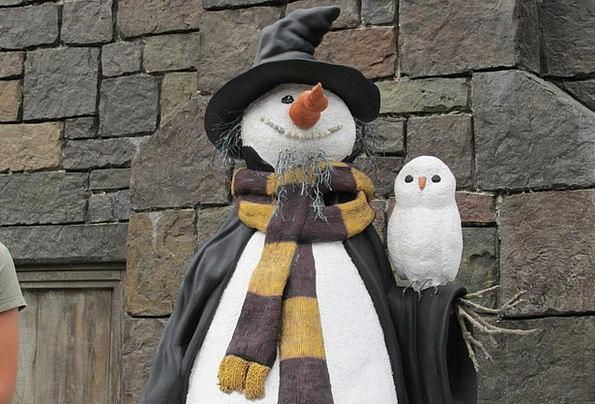 Snow Man Enchanted Magic Magical Potter Dawdle Cos