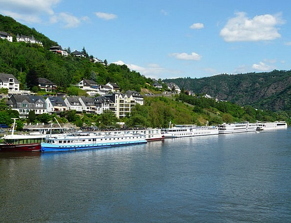 Mosel Boats Boat Trip Cochem Stop Ships Shipping W