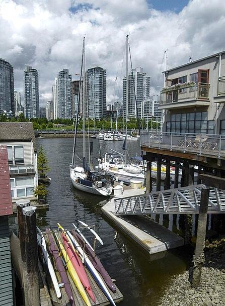 Vancouver Buildings Architecture Harbor False Cree