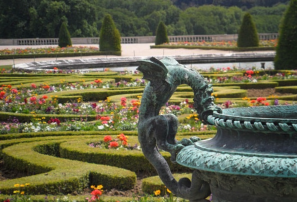 Versailles Landscapes Plot Nature Flowers Plants G