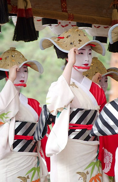 Women Females Bathrobe Japan Kimono Asian Japanese