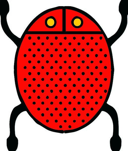 Bug Germ Ladybug Insect Ladybird Free Vector Graph
