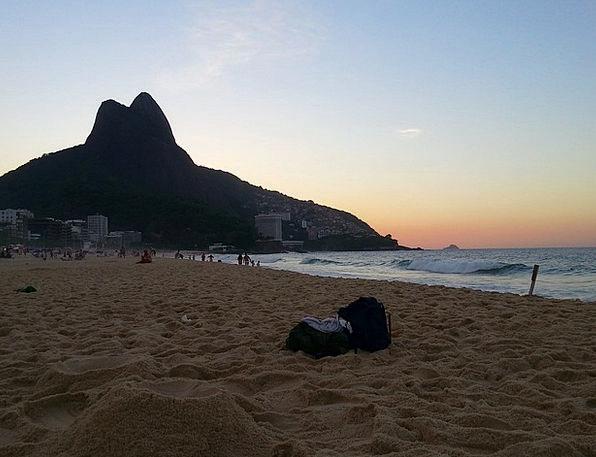 Rio De Janeiro Vacation Seashore Travel Ipanema Be