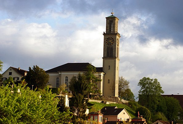 Suwayda Reformed Church Canton Of Zurich Switzerla