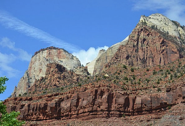 Zion Landscapes Nature Canyons Gorges Zion Nationa