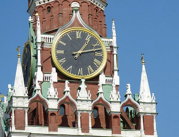 Kremlin Buildings Architecture Russia Moscow Brick
