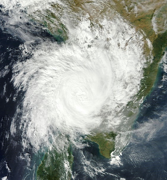 Thane Cyclone Winter Storm North Indian Ocean Hurr