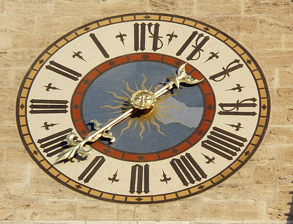 Clock Timepiece Face Time Period Clock Face Time O