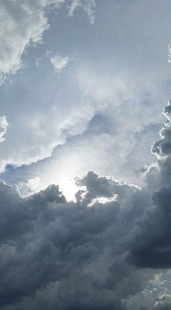 Clouds Vapors Blue Sun Sky Air Midair Day Summer S