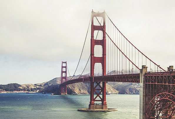 Golden Gate Bridge Monuments Places Suspension Bri