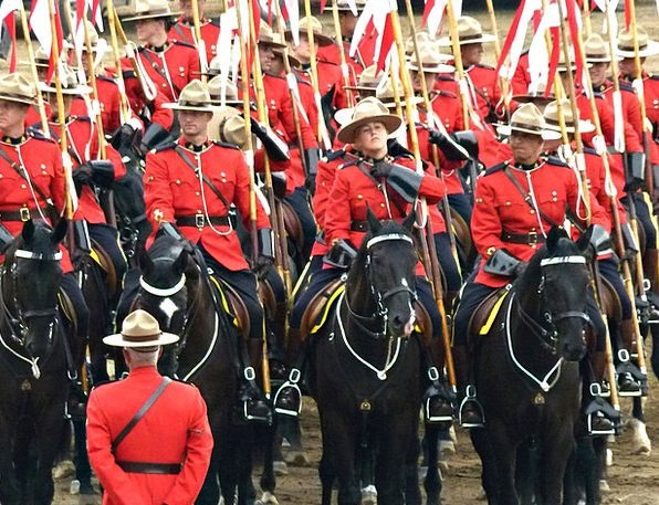 Royal Canadien Mounted Police Troop Peoples Person