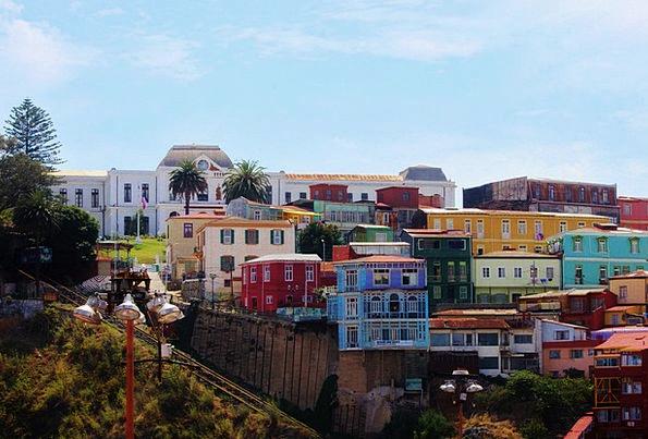 Valparaiso Buildings Building Architecture South A