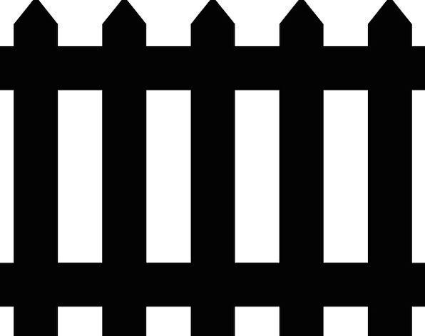 Fence Barrier Plot Border Edge Garden Fencing Spik