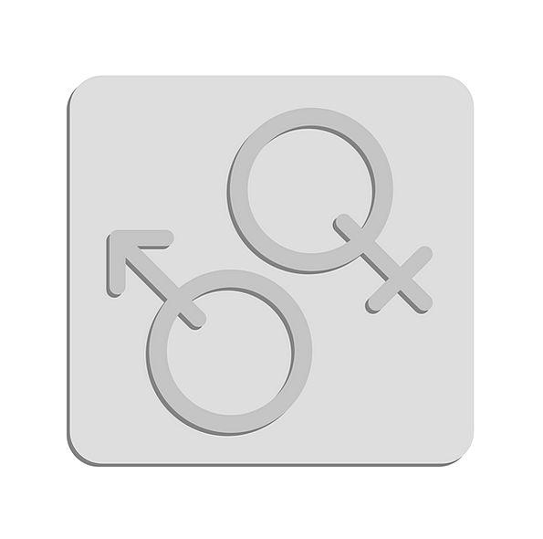 Gender Sign Male Masculine Symbol Female Feminine
