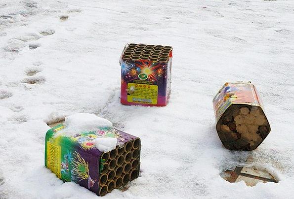 Fireworks Rockets Rocket Winter Season Firecracker
