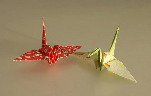 Origami Newspaper Art Painting Paper Paper Folds T