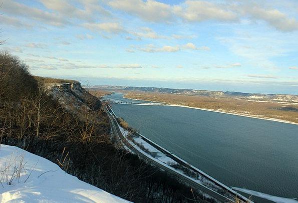 Mississippi River Landscapes Plain-spoken Nature L