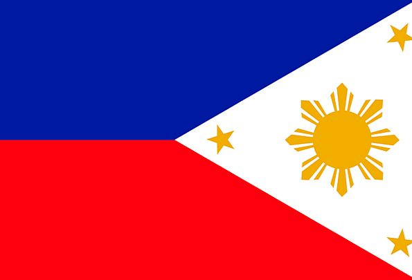 Philippines Standard Philippine Flag Filipino Coun