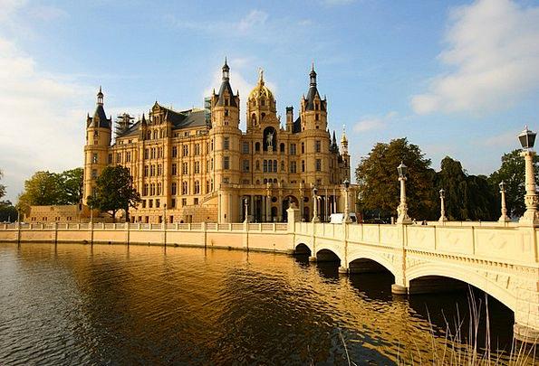 Bridge Bond Fortress Schwerin Castle Brandenburg G